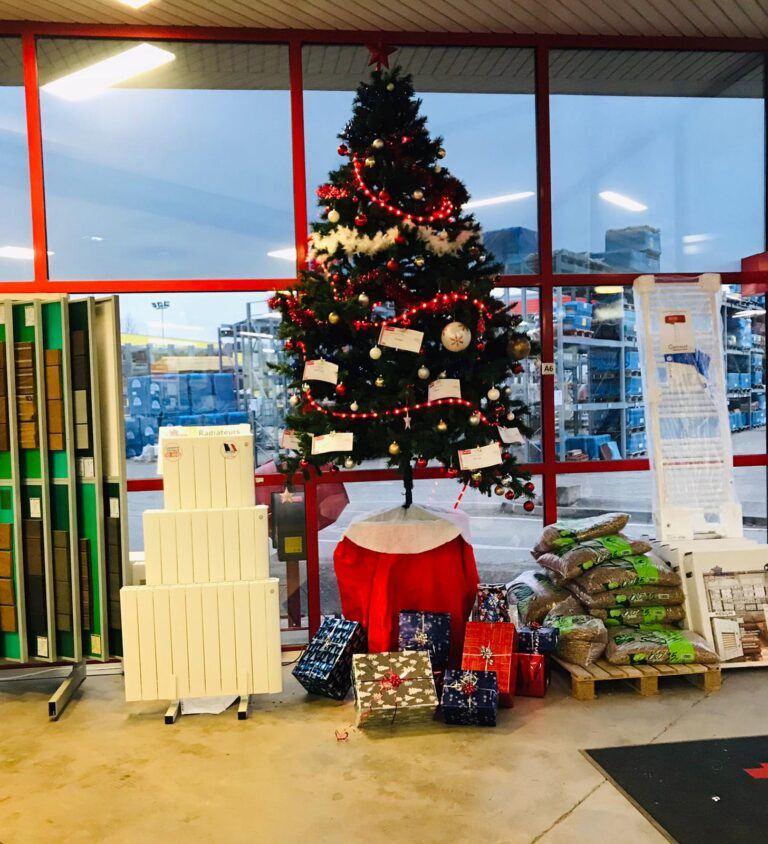 C'est déjà Noël chez GEDIMAT DELMONICO DOREL!
