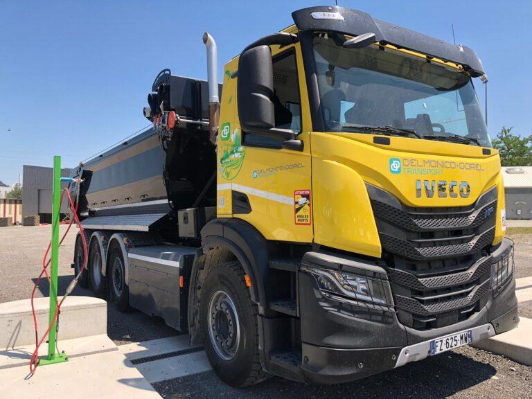 Camion gaz lyon ZFE